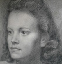 Sonja Poolman door Otto Dicke-8 februari 1943 b